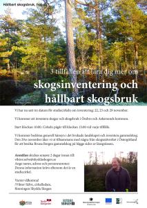 cirkel inventering hållbart skogsbruk lj