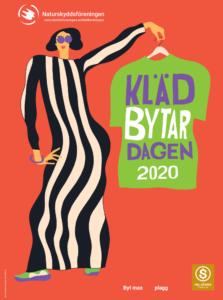 Affisch klädbytardagen 2020